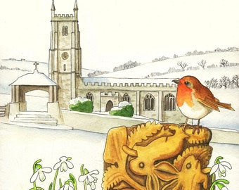 St Andrew's, South Tawton, Dartmoor