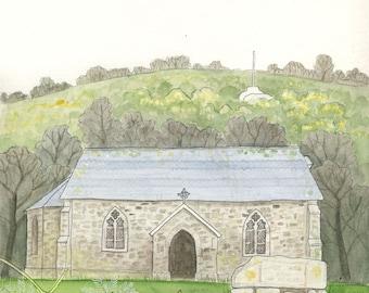 St Mary's, Sticklepath, Dartmoor