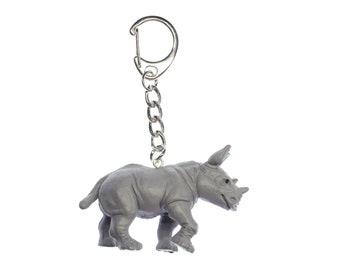 Krokodil Schlüsselanhänger Miniblings Anhänger Schlüsselring Kroko Zoo Gummi