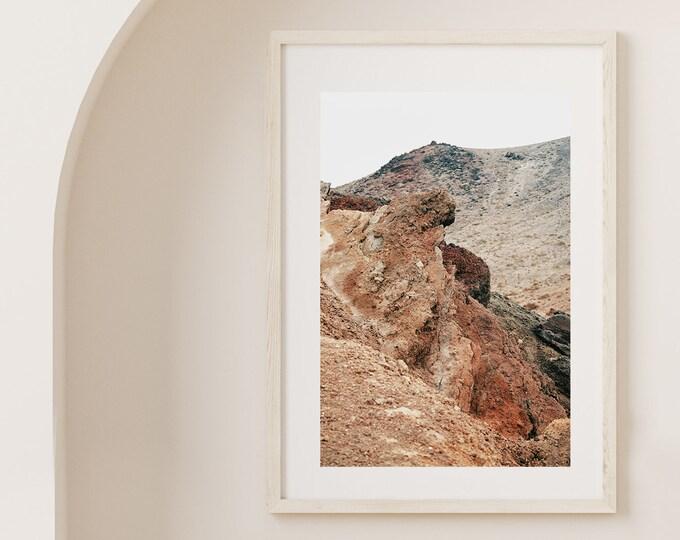 El Golfo Lanzarote volcano island Fine Art print 1 - from Poetica natura