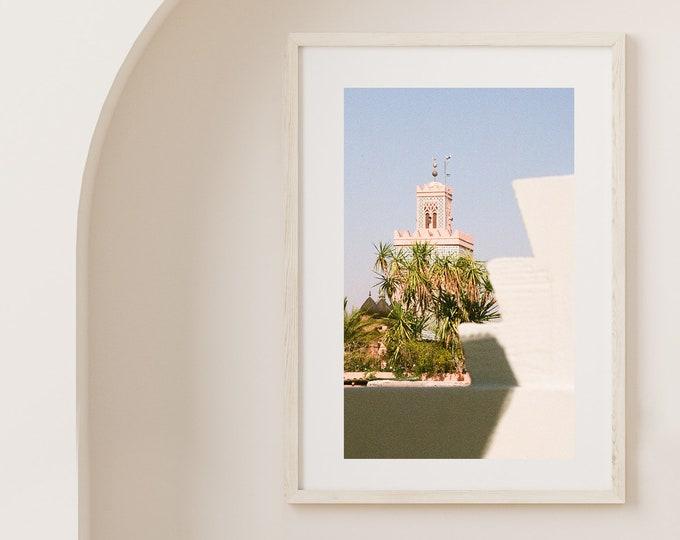 Marrakech Medina Art print 3 - from Vivid fragments of Morocco