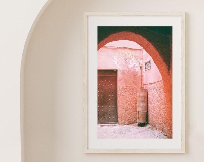 Marrakech Medina Fine Art print 2 - from Vivid fragments of Morocco