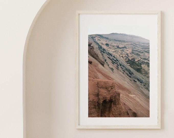 El Golfo Lanzarote volcano island Fine Art print 3 - from Poetica natura