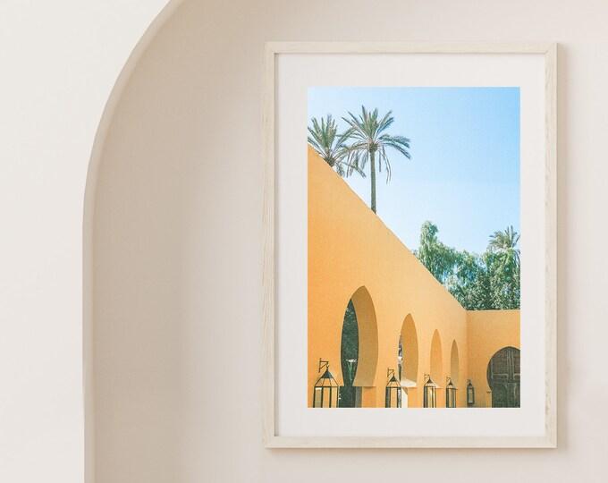 Marrakech Jnane Tamsna Fine Art print 2 - from Vivid fragments of Morocco