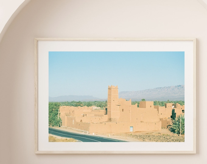 Morocco The road of a thousand kasbahs Fine Art print 1 - from Vivid fragments of Morocco