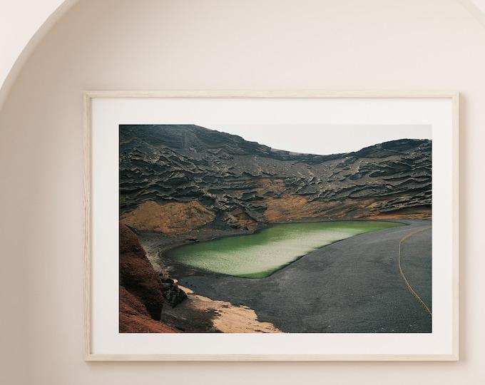 El Golfo Lanzarote volcano island Fine Art print 12 - from Poetica natura