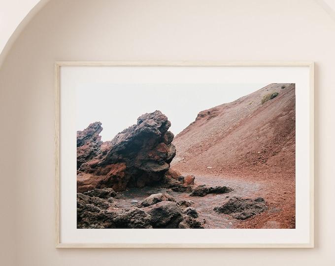 El Golfo Lanzarote volcano island Fine Art print 13 - from Poetica natura