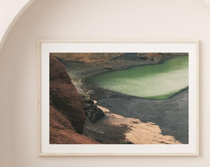 El Golfo Lanzarote volcano island Fine Art print 15 - from Poetica natura
