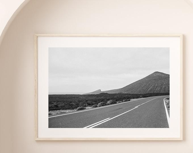 Monochrome Lanzarote Fine Art print 9 -  from Poetica natura, Misc Monochrome