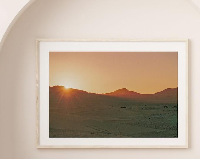 Morocco Zagora desert Fine Art print 2 - from Vivid fragments of Morocco