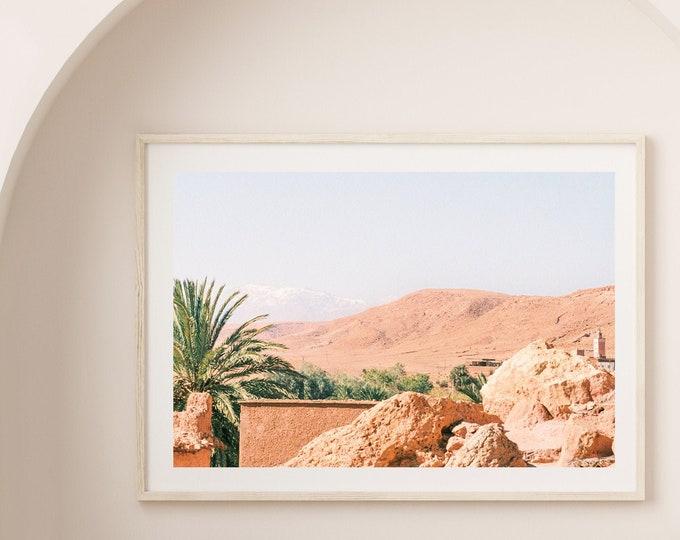 Morocco AitbenHaddou Fine Art print 3 - from Vivid fragments of Morocco