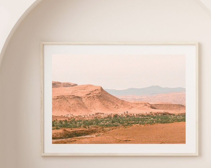 Morocco Ait BenHaddou Fine Art print  6 - from Vivid fragments of Morocco