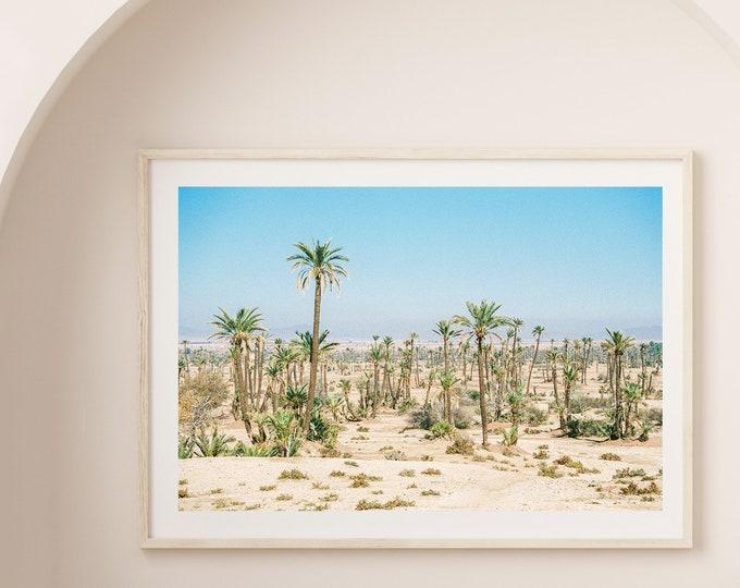 Marrakech Morocco La Palmeraie Fine Art print 1 - from Vivid fragments of Morocco