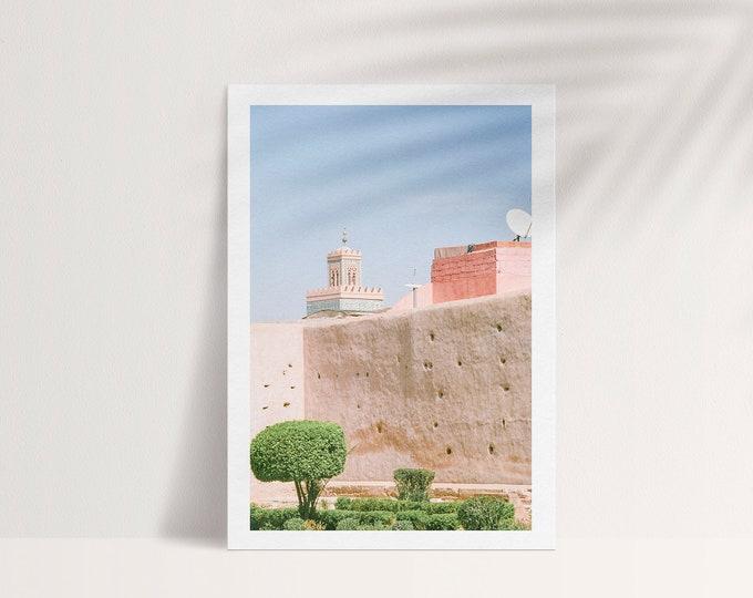 Marrakech Medina Kasbah A5 Postcard 1 - from Vivid fragments of Morocco