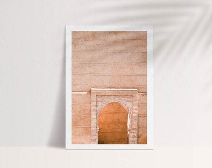 Marrakech Medina A5 Postcard 1 - from Vivid fragments of Morocco