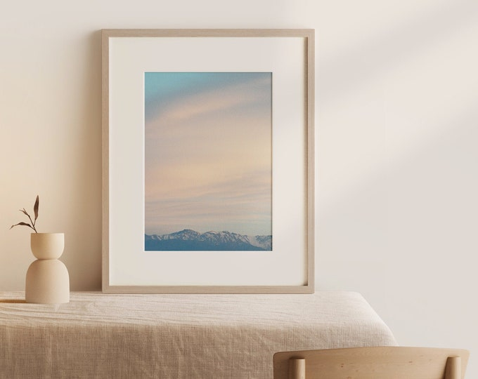 Marrakech Atlas mountains Fine Art print 1 - from Vivid fragments of Morocco