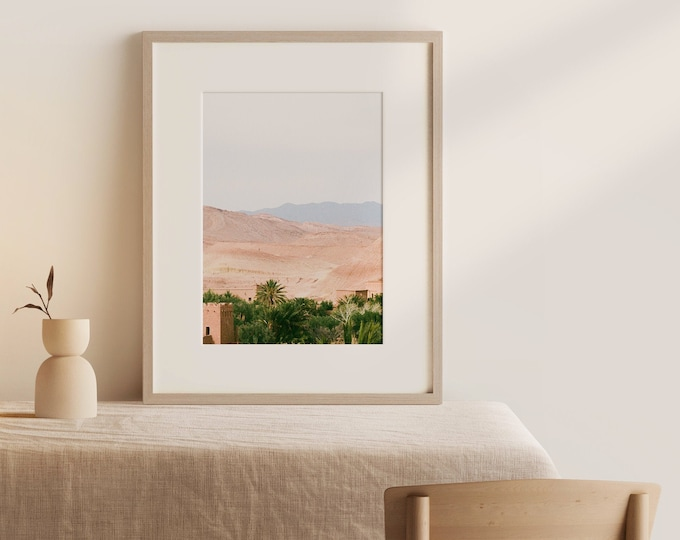 Morocco Ait BenHaddou Fine Art print 4 - from Vivid fragments of Morocco