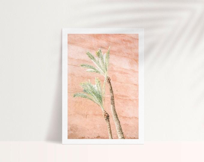 Marrakech Palm Medina A5 Postcard - from Vivid fragments of Morocco