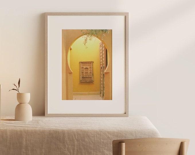 Marrakech Jnane Tamsna Fine Art print 1 - from Vivid fragments of Morocco