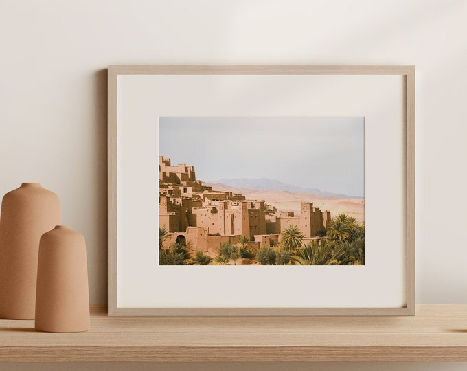 Morocco Ait BenHaddou Fine Art print 5 - from Vivid fragments of Morocco