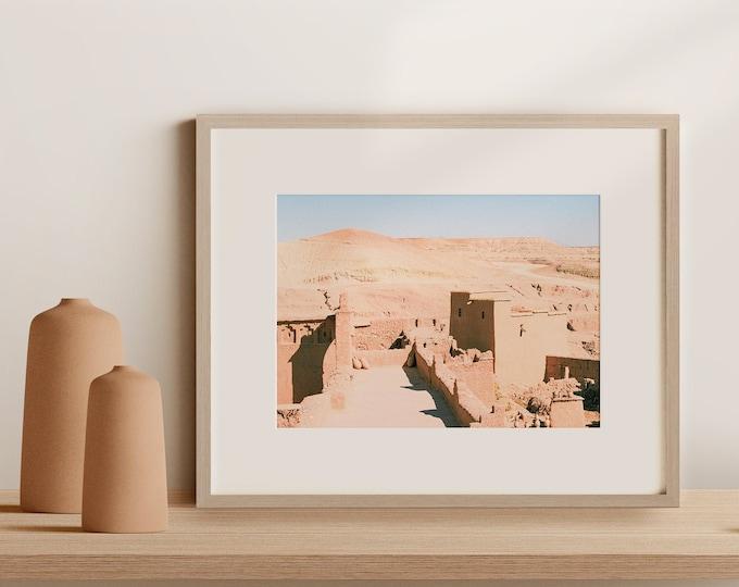 Morocco AitbenHaddou Fine Art print 1 - from Vivid fragments of Morocco