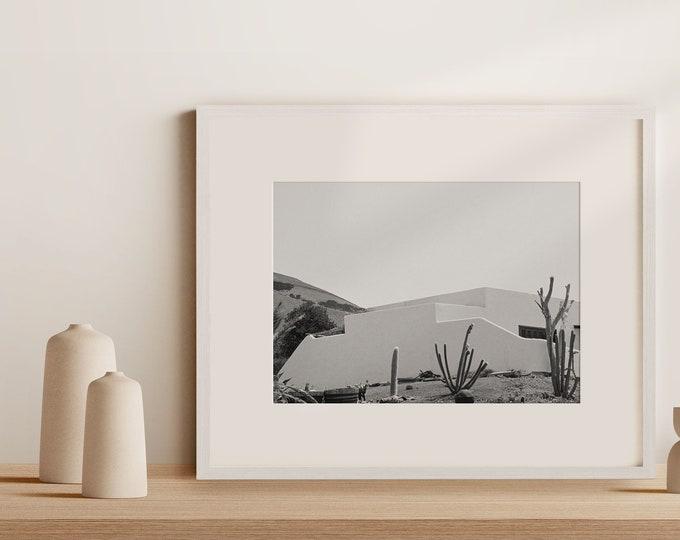 Monochrome Lanzarote architecture Fine Art print 6 - from Poetica natura, Misc monochrome