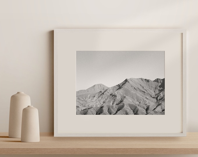 Monochrome Atlas mountains Morocco  Fine Art print 10 - from Poetica natura, Misc monochrome
