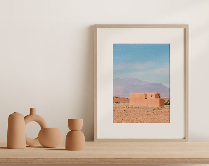 Morocco Ouarzazate Fine Art print 1 - from Vivid fragments of Morocco