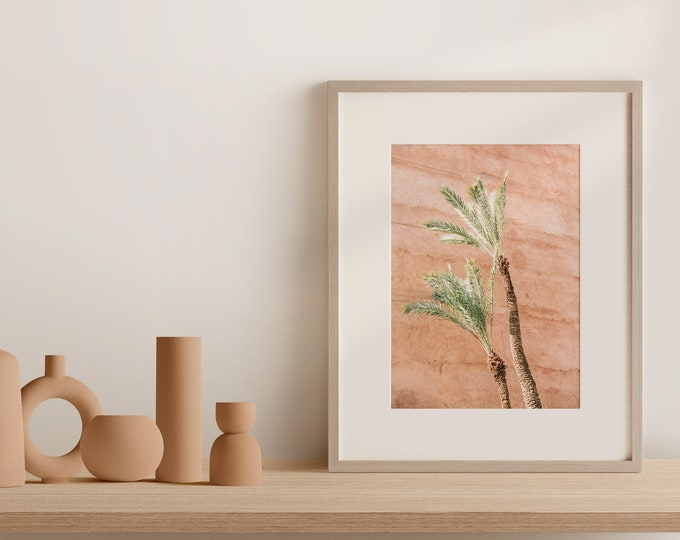 Marrakech Palm Medina Fine Art print - from Vivid fragments of Morocco