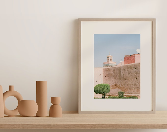 Marrakech Medina Kasbah Fine Art print 1 - from Vivid fragments of Morocco
