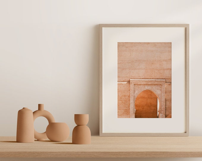 Marrakech Medina Fine Art print 1 - from Vivid fragments of Morocco
