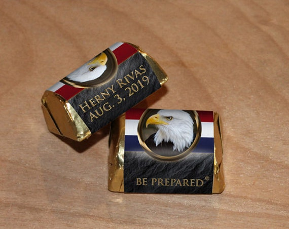 Nugget Wrapper, Eagle Scout, Customized, Eagle Scout Court of Honor, BSA0307