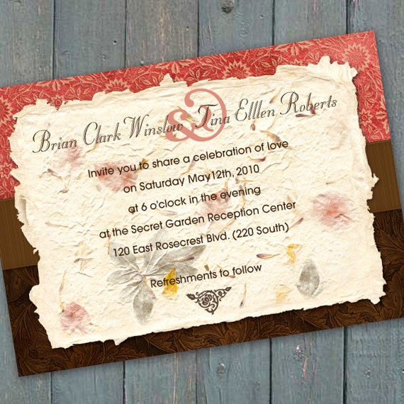 wedding invitations, bridal shower invitations, birthday party invitations, coral party, wedding package,