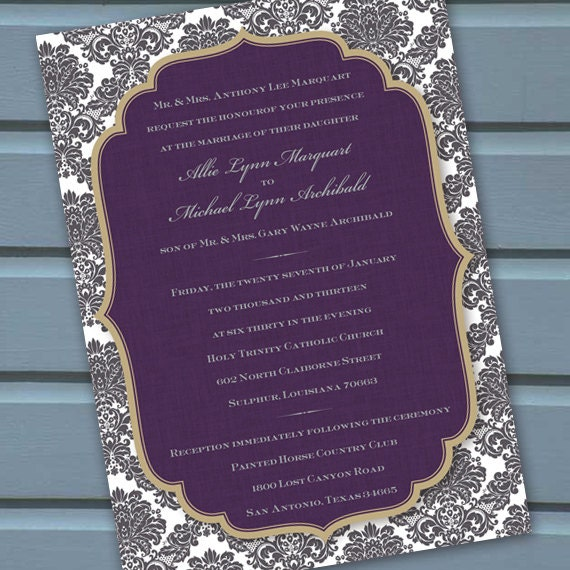 wedding invitations, wedding invitations and rsvp, wedding package, plum wedding invitations, bridal shower, wedding package,
