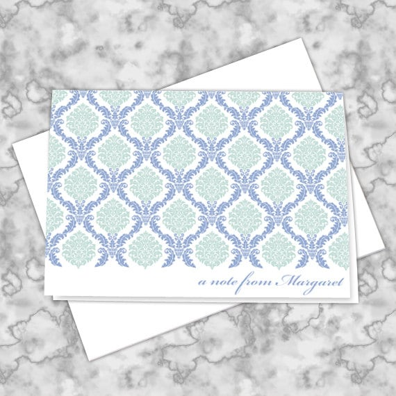 personalized notecards, thank you cards, thank you notes, graduation thank you cards, 4.25x6 notecards, teacher appreciation, NC132