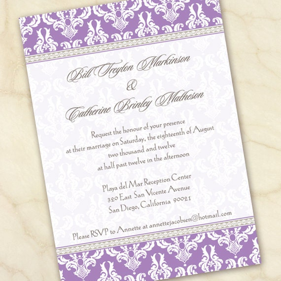 wedding invitations, bridal shower invitations, graduation party invitations, retirement party, wedding package, IN141