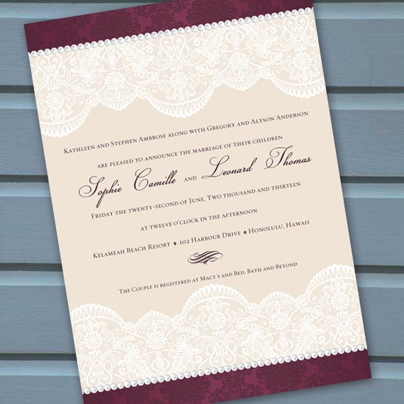 wedding invitations, cranberry wedding invitations, wedding invitations and rsvp, wedding package, formal wedding invitations, IN215