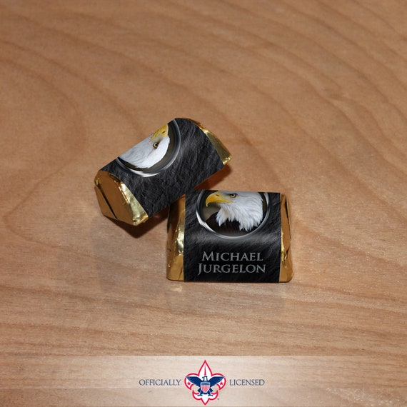 Nugget Wrapper, Eagle Scout, Customized, Eagle Scout Court of Honor, BSA0507