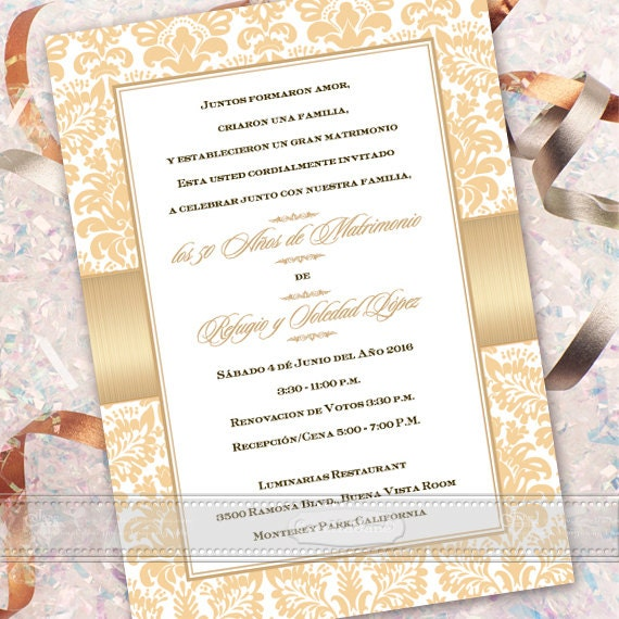 Partecipazioni 50 Anni Matrimonio.50th Wedding Anniversary 50th Wedding Anniversary Invitations