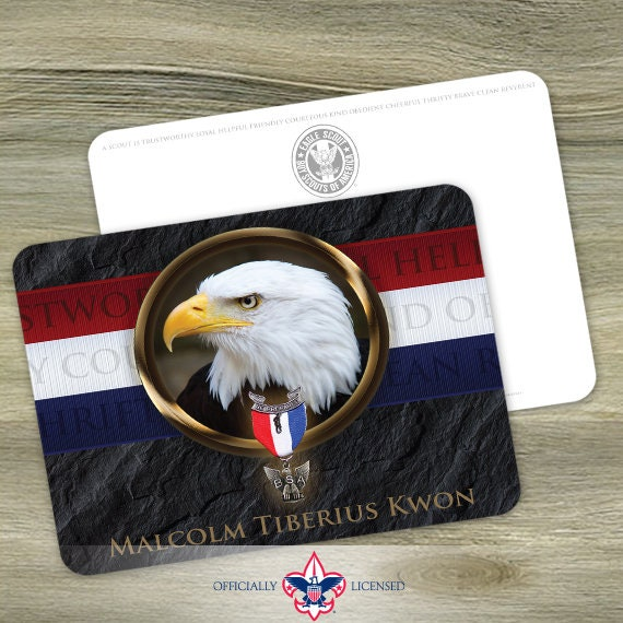 Thank You Cards, Eagle Scout, Customized, Court of Honor, BSA0312
