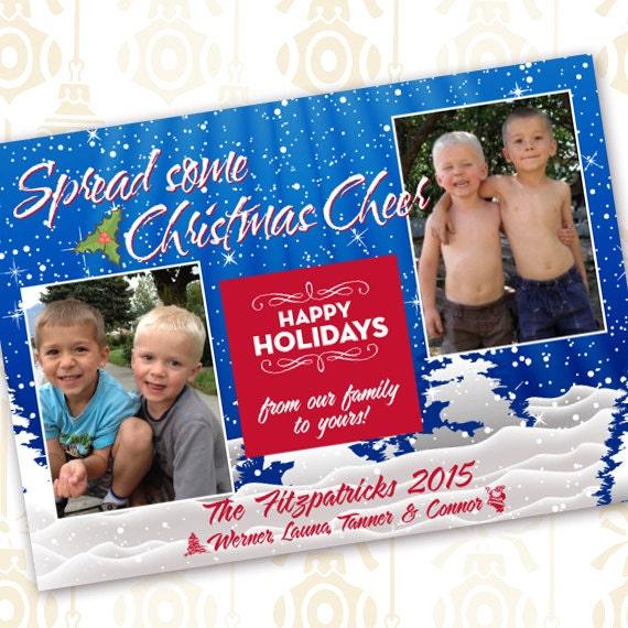 Christmas cards, winter wonderland Christmas card, white Christmas, snowflake Christmas card, winter wonderland card, CC083