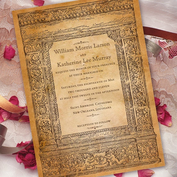 wedding invitations, bridal shower invitations, recital programs, graduation announcement invitations, wedding package