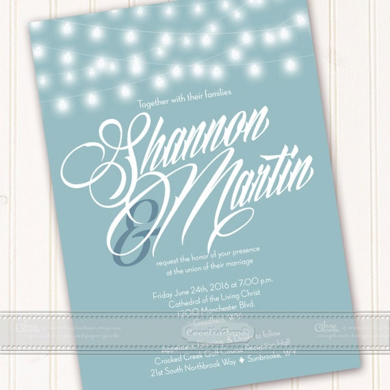 wedding invitations, wedding invitations with rsvp, aqua wedding invitation, bridal shower, wedding package, IN459