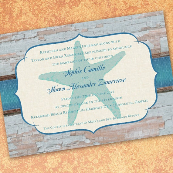 wedding invitations, beach wedding invitations, destination wedding invitations, beach wedding invitations, wedding package, IN202