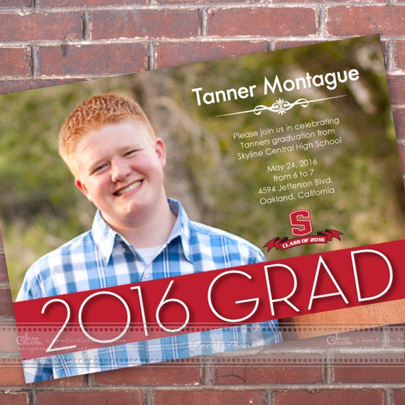 graduation invitations, graduation announcements, grad party, high school graduation invitations, graduation party invitations, IN452v2