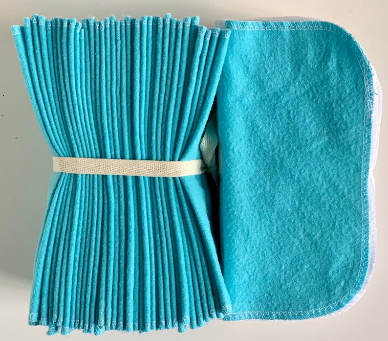 Cloth Baby Wipes Starter Kit via AsYouStitchBaby