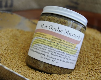 Hot Garlic Mustard