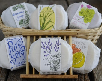 Handmade Soap 6 Bar Multipack