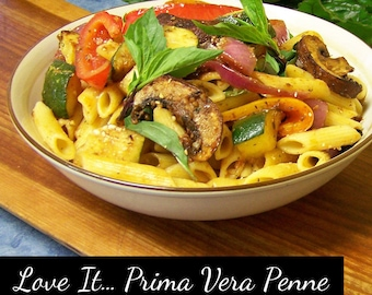 "Prima Vera Sundried Tomato Spice Blend ""All in One Bottle"" Artisan Pasta Sauce Mix DIY Salad Dressing Mix - Organic Dip Mix Food Herb Spice"