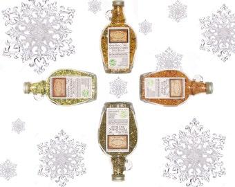 Foodie Gift Four Artisan Spice Blends Natural Kitchen Organic Kitchen Gourmet Kitchen Herbs Kitchen Spice Blends Food Home Kitchen Gift Set